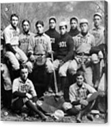 Yale Baseball Team, 1901 Acrylic Print