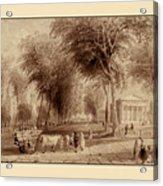 Yale University 1836 Acrylic Print