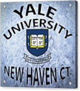 Yale University New Haven Ct.  Acrylic Print