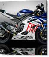 Yamaha Rossi Rep Acrylic Print