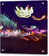 Yangshuo Trees By Night Acrylic Print