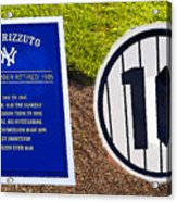 Yankee Legends Number 10 Acrylic Print