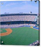 Yankee Stadium Ny Yankees V. Tampa Acrylic Print
