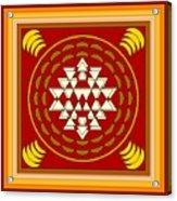 Yantra Meditation Acrylic Print