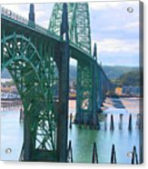Yaquina Bay Bridge Br-9002 Acrylic Print