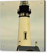Yaquina Head Lighthouse - Newport Or Acrylic Print by Christine Till