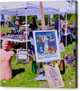 Yard Sale Day Acrylic Print