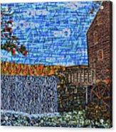 Yates Mill 3 Acrylic Print