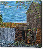 Yates Mill Acrylic Print