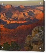 Yavapai Point Sunset Acrylic Print