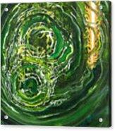Yaweh El Shaddai Left Canvas Detail Acrylic Print