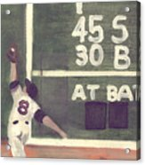 Yaz And The Green Monster Acrylic Print