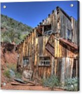 Ye Old Ford Building Acrylic Print