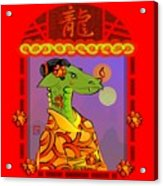 Year Of The Dragon Acrylic Print
