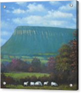 Yeats Country With Benbulben Acrylic Print