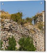 Yedikule Fortress Ruins Acrylic Print