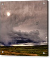Yellostone Sky Acrylic Print