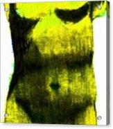 Yellow Aphrodite Acrylic Print