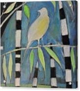 Yellow Bird Up High... Acrylic Print