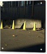 Yellow Cones Acrylic Print