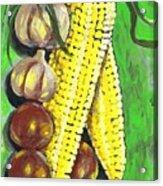 Yellow Corn Acrylic Print