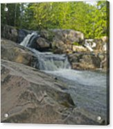 Yellow Dog Falls 4213 Acrylic Print