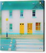 Yellow Doors Acrylic Print