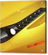 Yellow Ferrari 2013 Acrylic Print
