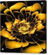 Yellow Flower Acrylic Print