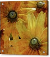 Yellow Flowers Impression 2937 Idp_3 Acrylic Print