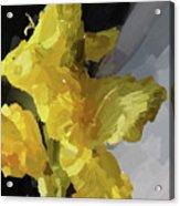 Yellow Glad 092217 1a Acrylic Print