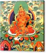 Yellow Jambhala 20 Acrylic Print