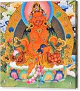 Yellow Jambhala 21 Acrylic Print