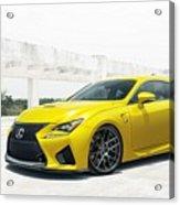 Yellow Lexus4 Acrylic Print