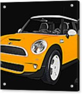 Yellow Mini  Acrylic Print