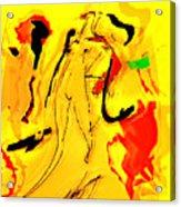Yellow Acrylic Print