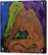 Yellow One Acrylic Print