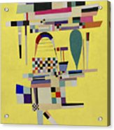 Yellow Painting Acrylic Print