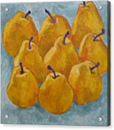 Yellow Pears Acrylic Print