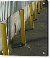 Yellow Posts Acrylic Print