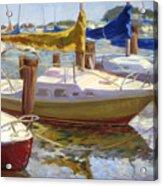 Yellow Sails Acrylic Print