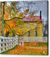 Yellow Shaker House 4 Acrylic Print
