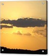 Yellow Sky Two Acrylic Print