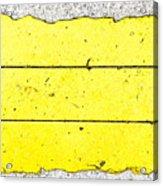Yellow Stone Acrylic Print