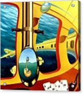 Yellow Submarine Acrylic Print