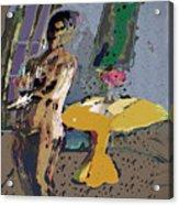 Yellow Table II Acrylic Print