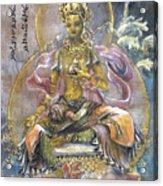 Yellow Tara  Acrylic Print