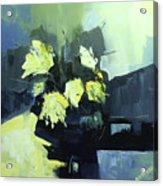 Yellows Acrylic Print