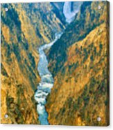 Yellowstone Canyon Acrylic Print