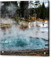 Yellowstone Colors #2 Acrylic Print